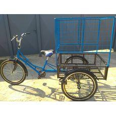 Велосипед трехколесный Цветочный, фото 3