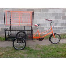 Велосипед трехколесный Цветочный, фото 4