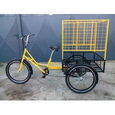 Велосипед трехколесный Цветочный, фото 1