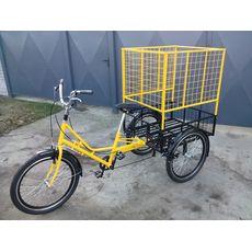 Велосипед трехколесный Цветочный, фото 6