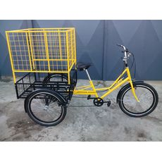 Велосипед трехколесный Цветочный, фото 7
