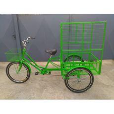 Велосипед трехколесный Цветочный, фото 8