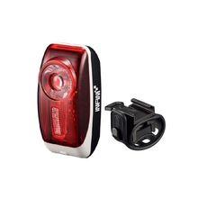 Мигалка задняя INFINI I-407R, 0.5W Red LED, 3 режима, батарейки в комплекте (LTS-99-41), фото 1