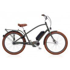 """Велосипед 26"""" Electra Townie GO! 8i Bosch Men's Army Grey (SKD-41-55), фото 1"""