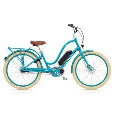 "Велосипед 26"" Electra Townie GO! 8i Bosch Ladies' blue (SKD-26-85), фото 1"