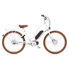 "Велосипед 26"" Electra Townie GO! 8i Bosch Ladies' wthite (SKD-47-42), фото 1"