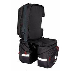 Велосумка на багажник SUPERBIKE (черный), фото 1