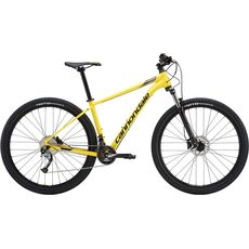"Велосипед 27,5"" Cannondale Trail 6 2019 HYL желтый, фото 1"