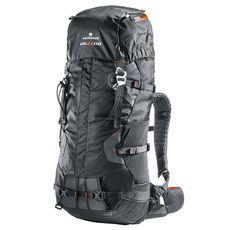 Рюкзак туристический Ferrino XMT 60+10 Black, фото 1