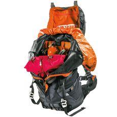Рюкзак туристический Ferrino XMT 60+10 Black, фото 5