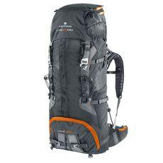 Рюкзак туристический Ferrino XMT 80+10 Black, фото 1