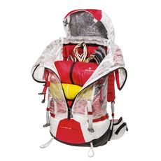 Рюкзак туристический Ferrino Radical 45+10 White, фото 3