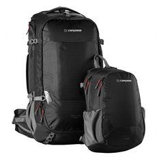 Рюкзак туристический Caribee Magellan 75 RFID Black, фото 2