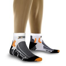 Термоноски X-Socks Biking Ultralight X50 White/Black (X20004), фото 1