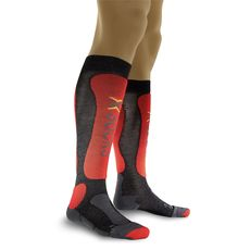 Термоноски X-Socks Ski Comfort Man X71 Anthracite/Red (X20280), фото 1