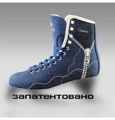 Фигурные коньки CK Fashion Jeans Blue / размер 37, фото 1