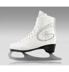 Фигурные коньки Спортивная Коллекция Princess Lux 100% Leather, фото 1