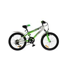 "Велосипед Comanche Moto Six Белый-зеленый (рама 10""), фото 1"