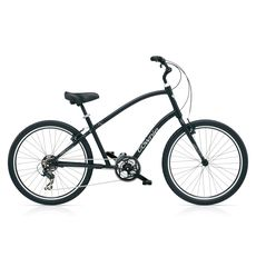 "Велосипед 26"" Electra Townie Original 21D Men's Black satin (BIC-17-61), фото 1"