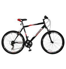 """Велосипед Comanche Ontario Черный-красный (рама 21""""), фото 1"""