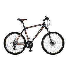 """Велосипед Comanche Niagara Disc Черный-оранжевый-стальной (рама 22""""), фото 1"""