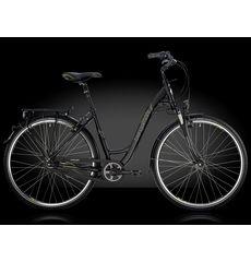 "Велосипед 28"" Bergamont Belami Lite N8 C2, 2014 (рама 52см) black/lime grey (matt), фото 1"