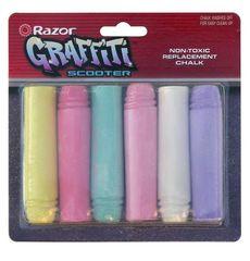 Картридж д/самоката Razor Chalk Replacement (графити 6шт) (ACC-01-86), фото 1