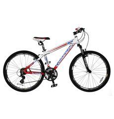 """Велосипед Comanche Niagara Белый-синий-красный (рама 15""""), фото 1"""