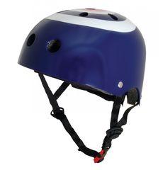 Шлем детский Kiddimoto синяя мишень, фото 1