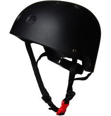 Шлем детский Kiddimoto чёрный матовый, фото 1