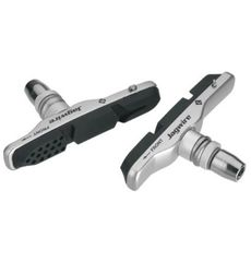 Колодки тормозные MTB v-br. JAGWIRE Switchback Tri-Zone JS91BC - Silver Holder+Pad (BRS-10-16), фото 1