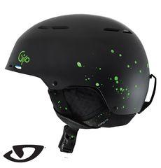 Шлем горнолыжный Giro Combyn Matte Black Splatter, фото 1