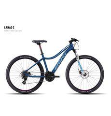 Велосипед Ghost Lanao 2 darkblue/white/cyan/pink XS 2016, фото 1