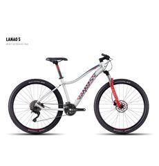 Велосипед Ghost Lanao 5 white/red/darkred/blue M 2016, фото 1