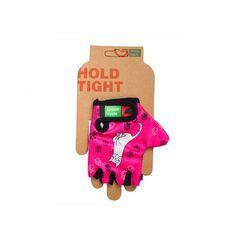 Перчатки Green Cycle NC-2340-2014 Kids без пальцев розовые, фото 1