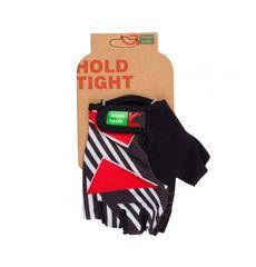 Перчатки Green Cycle NC-2346-2014 Light без пальцев черно-красные, фото 1