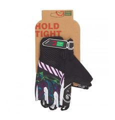 Перчатки Green Cycle NC-2331-2014 MTB Feminine без пальцев черно-фиолетовые, фото 1