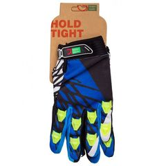 Перчатки Green Cycle NC-2357-2014 MTB с закрытыми пальцами сине-белые, фото 1