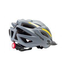 Сменный комплект оборудования на шлем Green Cycle Rock серо-оранжевый, фото 1