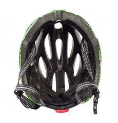 Сменный комплект оборудования на шлем Green Cycle Alleycat черно-зеленый, фото 1