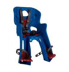 Сиденье переднее Bellelli Rabbit Handlefix до 15кг, синее с красной подкладкой (SAD-25-77), фото 1
