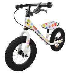 "Беговел 12"" Kiddimoto Super Junior MAX SUPER DOTTY алюминиевый, фото 1"