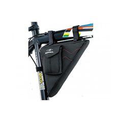 Сумка Konnix TY-09133BR треугольная, наружный карман для ценных предметов, размер: 27x6x15cm, черный (BIB-17-35), фото 1