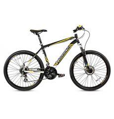 """Велосипед Comanche Niagara Comp Черный-желтый-синий (рама 17""""), фото 1"""