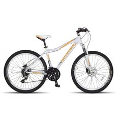 "Велосипед Comanche Orinoco Comp L Белый-желтый (рама 17""), фото 1"