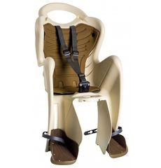 Сиденье заднее Bellelli Mr Fox Relax B-fix до 22кг, бежевое с коричневой подкладкой (SAD-35-53), фото 1