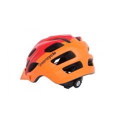 Шлем Green Cycle Enduro оранжево-красный матовый, фото 2