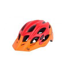 Шлем Green Cycle Enduro оранжево-красный матовый, фото 1