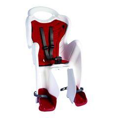 Сиденье заднее Bellelli Mr Fox Clever белое с красной подкладкой детское (SAD-90-10), фото 1