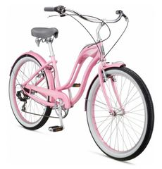 "Велосипед 26"" Schwinn Hollywood Women pink 2017 (SKD-66-22), фото 2"